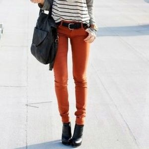 NEW - Orange Tommy Hilfiger Skinny Jeans